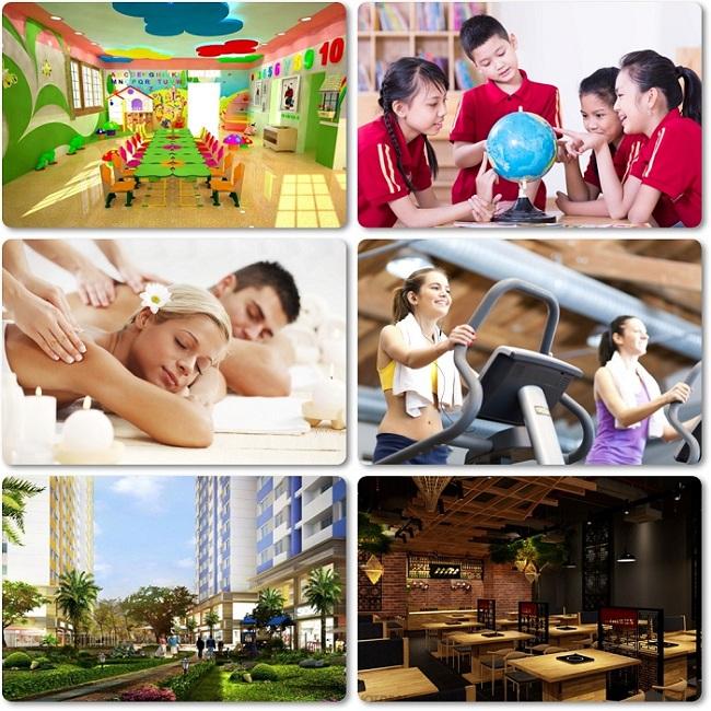 tiện ích căn hộ Saigon Mia
