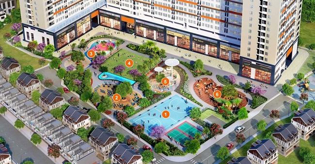 Công viên tại căn hộ 9view