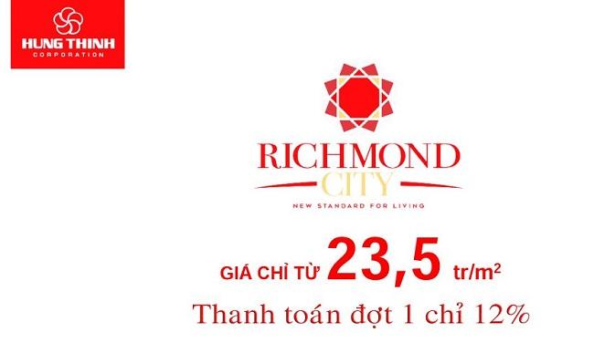 giá bán căn hộ Richmond City