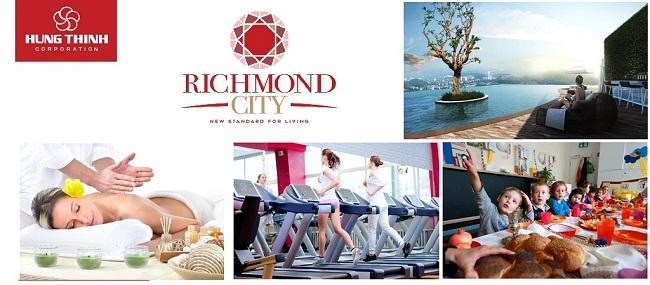 Tiện ích nội khu căn hộ Richmond City Bình Thạnh