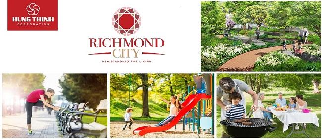 tiện ích nội khu Richmond City.