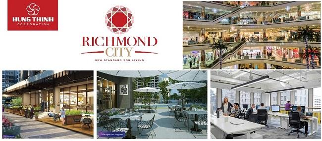 4 tầng trung tâm thương mại tại Richmond City