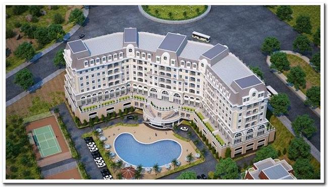 căn hộ kết hợp khách sạn golden bay