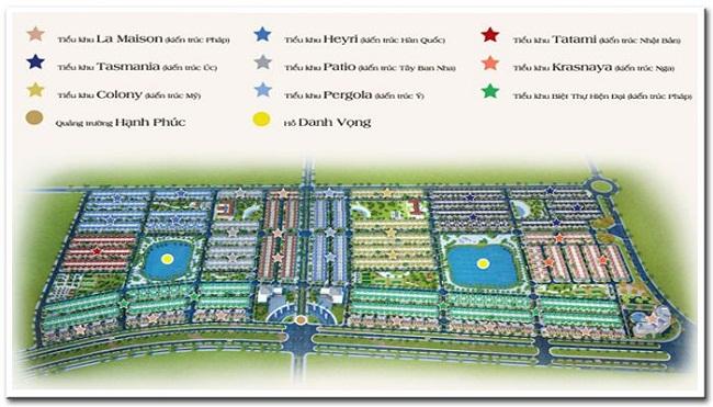 8 loại kiến trúc của khu đô thị Golden Bay