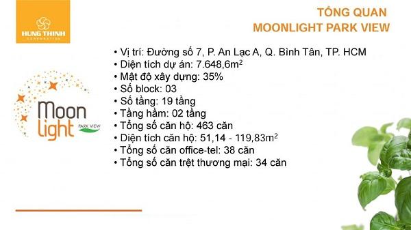 Căn Hộ Moonlight Park View tổng thể