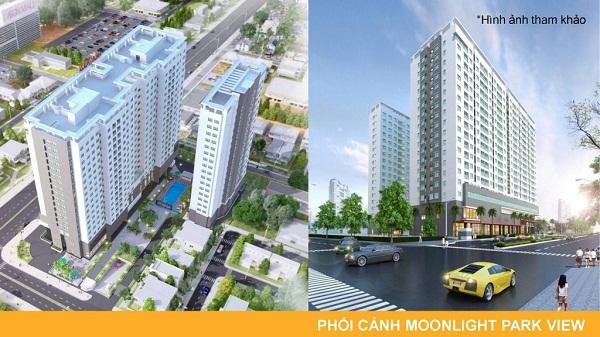 Phối cảnh dự án Căn Hộ Moonlight Park View Bình Tân