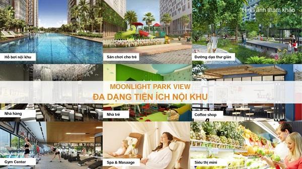 Moonlight Park View đa dạng diện tích nội khu