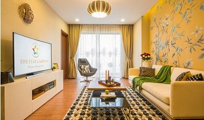 nội thất của căn hộ